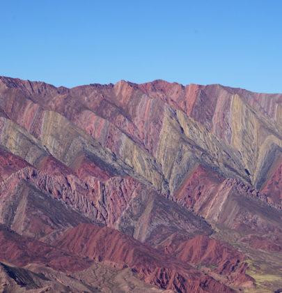 📷 El Hornocal, la montagne aux 14 couleurs.