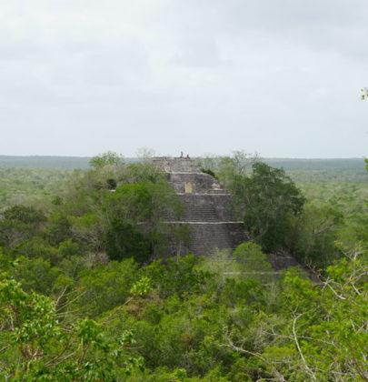 📷Les cités Maya du Yucatan : Calakmul